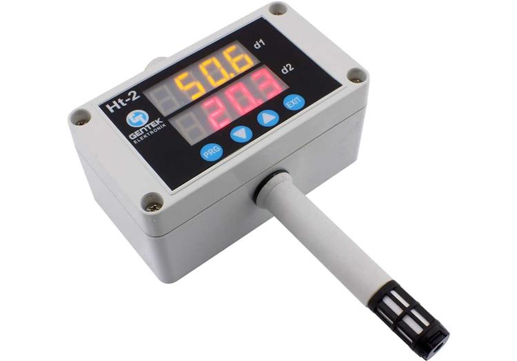 Indicated, Filtered Temperature Humidity Transmitter